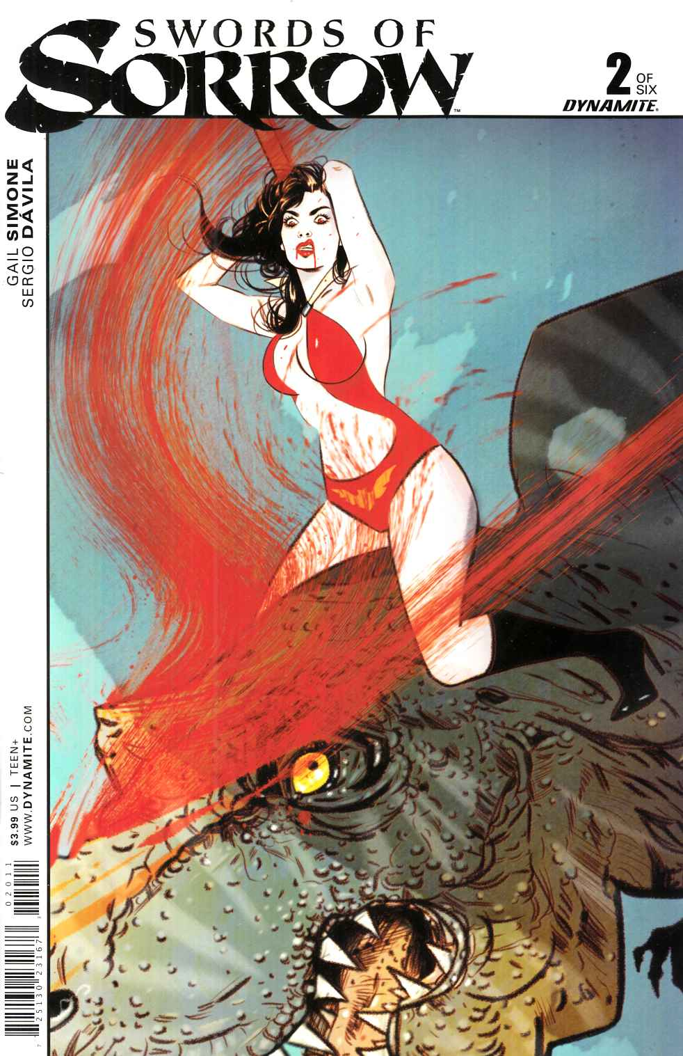 Swords of Sorrow #2 Cover A- Lotay [Dynamite Comic] THUMBNAIL