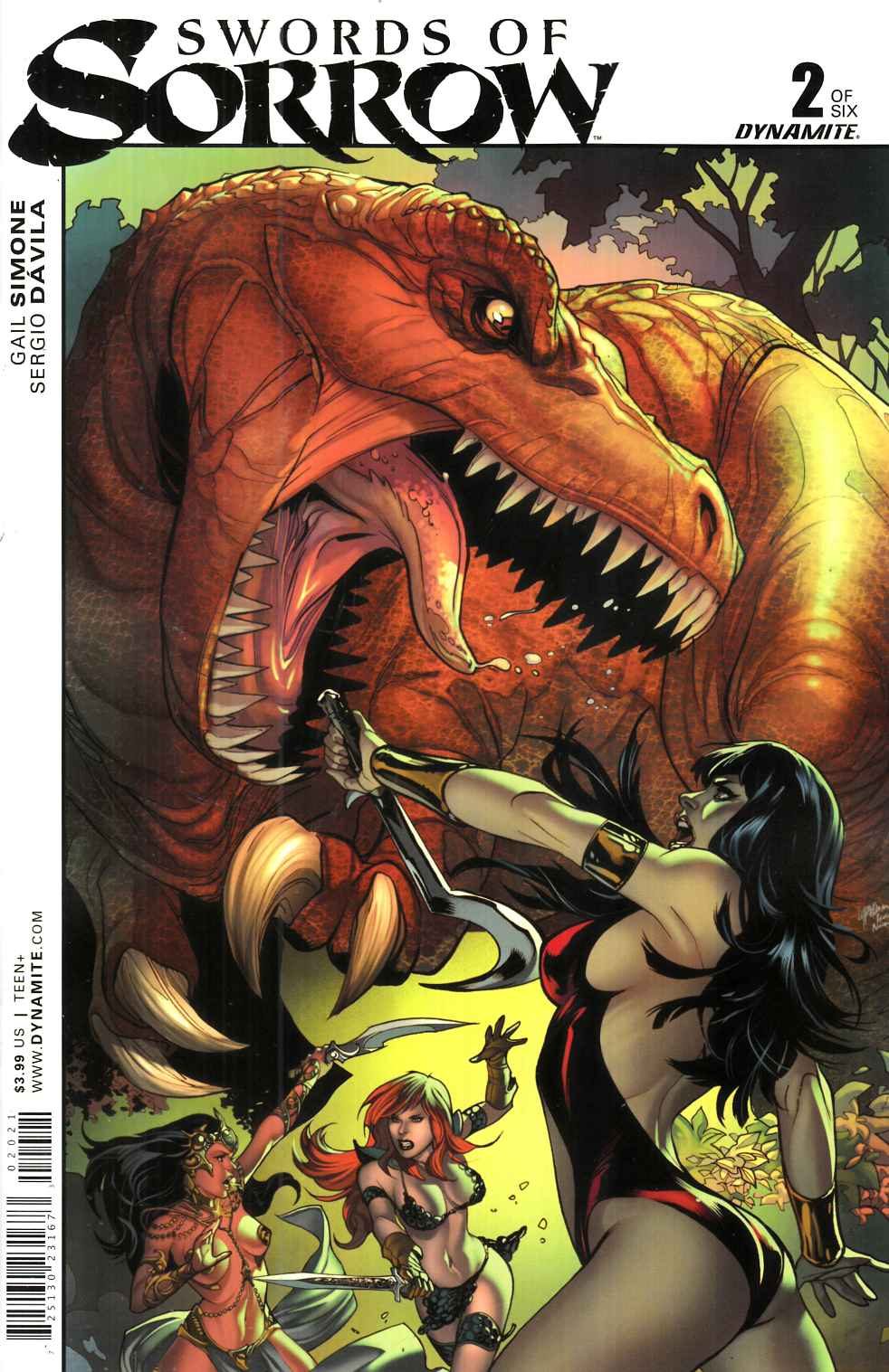 Swords of Sorrow #2 Cover B- Luppachino [Dynamite Comic] THUMBNAIL