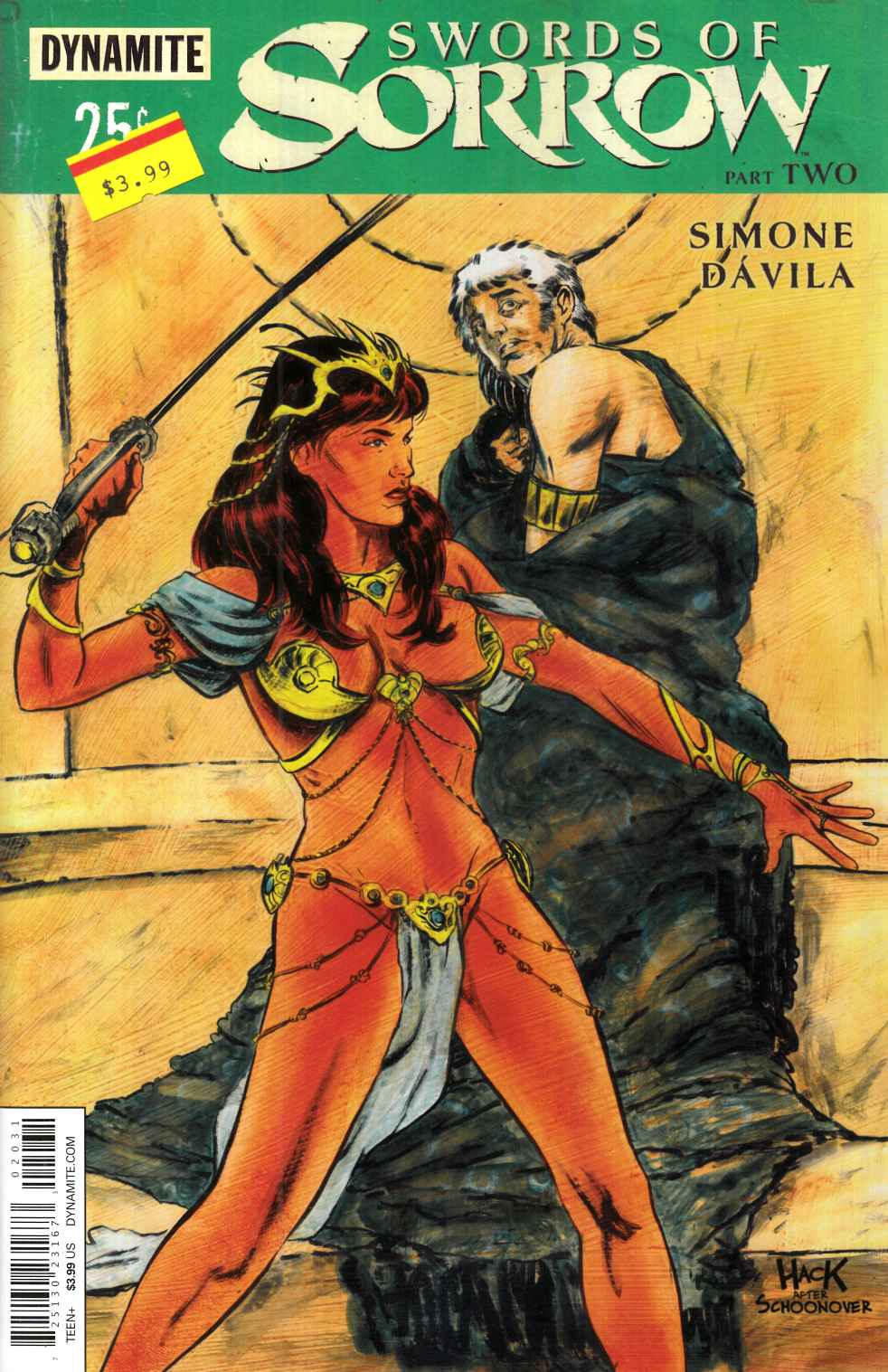 Swords of Sorrow #2 Cover C- Hack Subscription [Dynamite Comic] THUMBNAIL