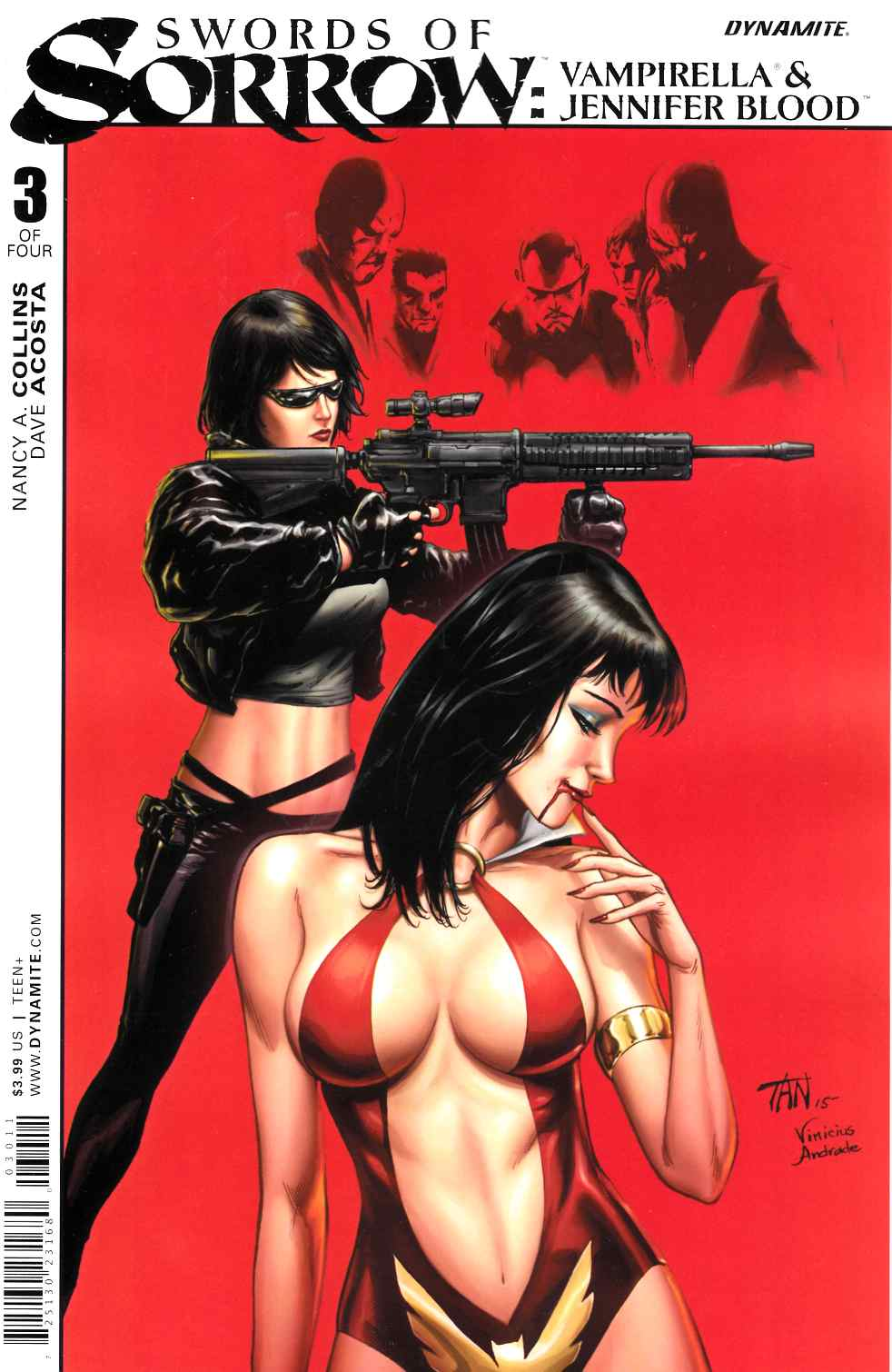 Swords of Sorrow Vampirella Jennifer Blood #3 [Dynamite Comic]