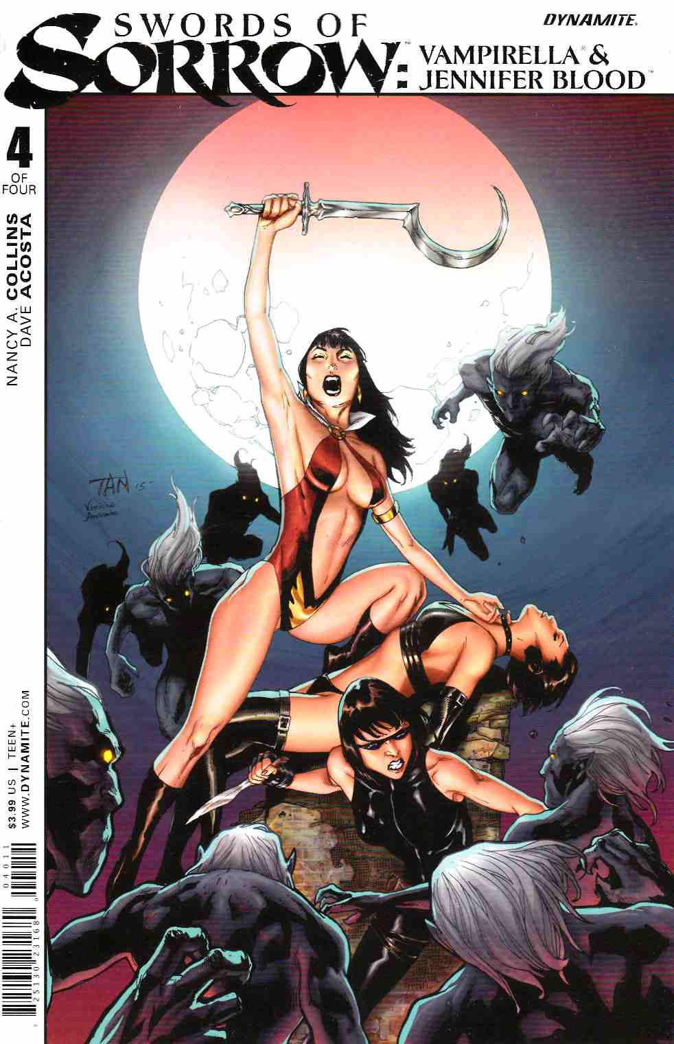 Swords of Sorrow Vampirella Jennifer Blood #4 [Dynamite Comic]