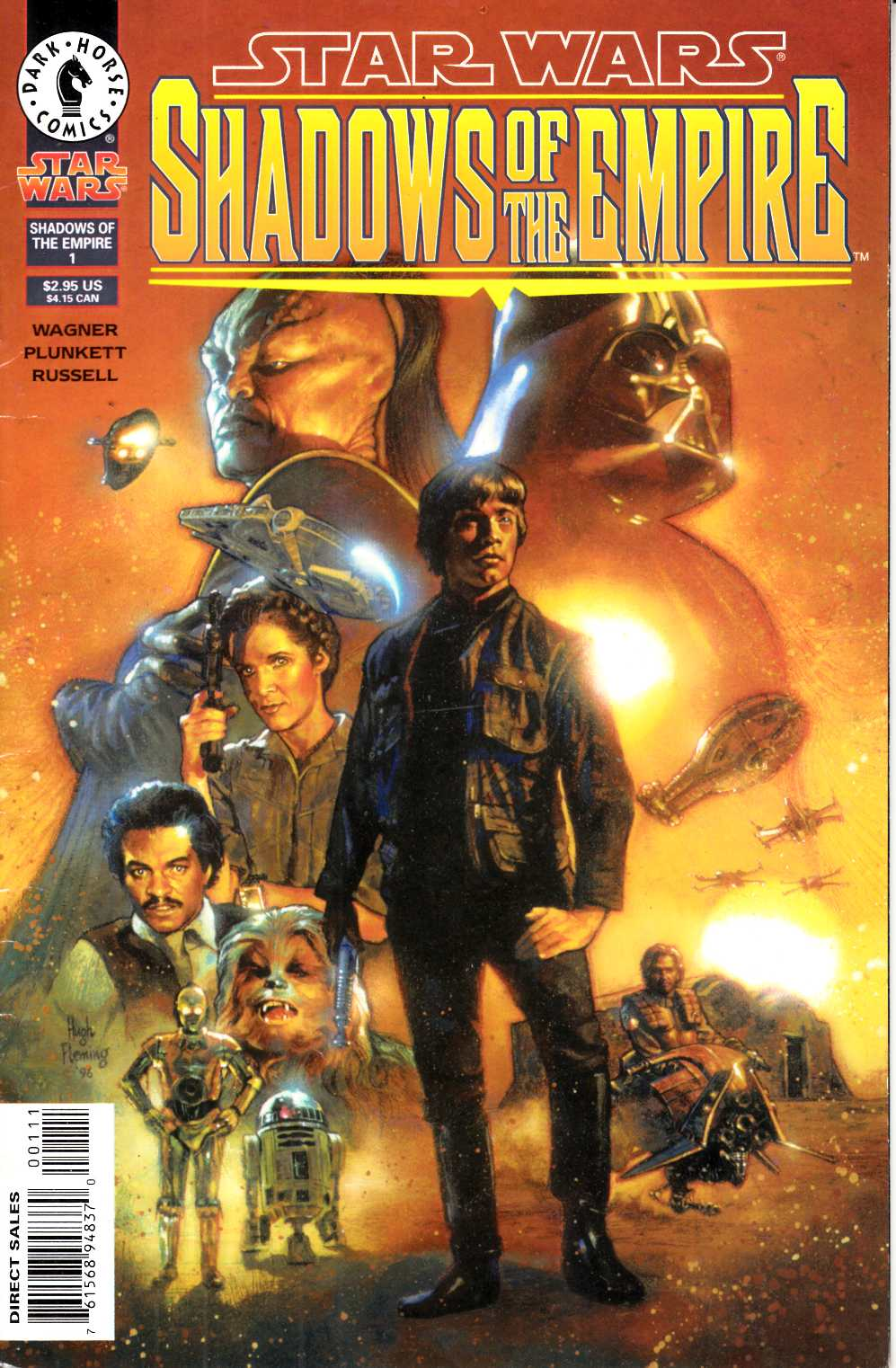 Star Wars Shadows of the Empire #1 Very Good (4.0) [Dark Horse Comic] THUMBNAIL