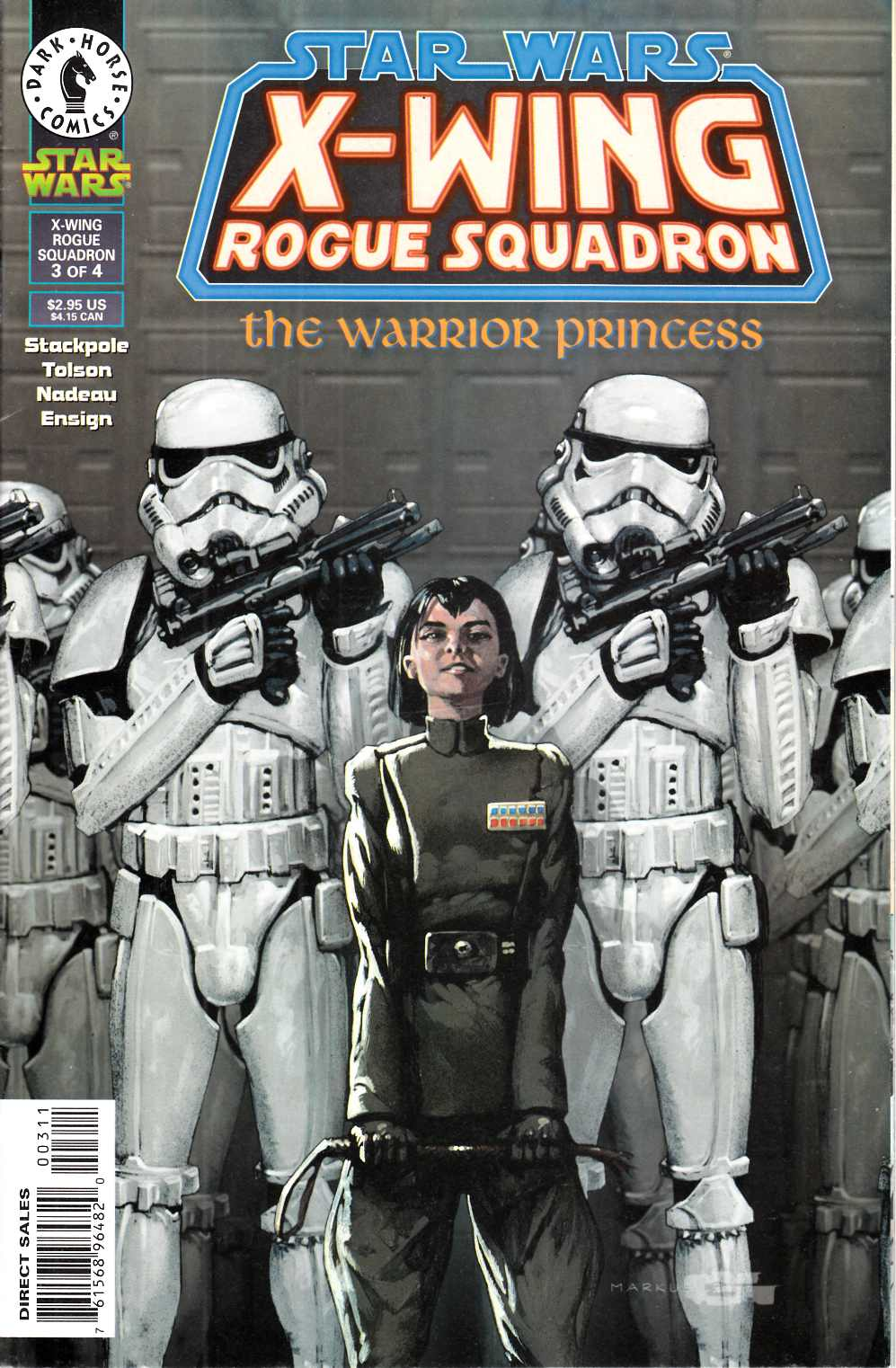 Star Wars X-Wing Rogue Squadron #15 Very Fine (8.0) [Dark Horse Comic] THUMBNAIL