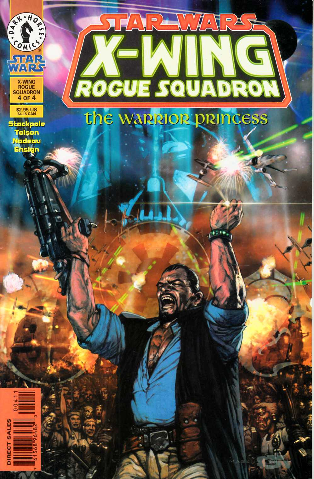 Star Wars X-Wing Rogue Squadron #16 Very Fine (8.0) [Dark Horse Comic] THUMBNAIL