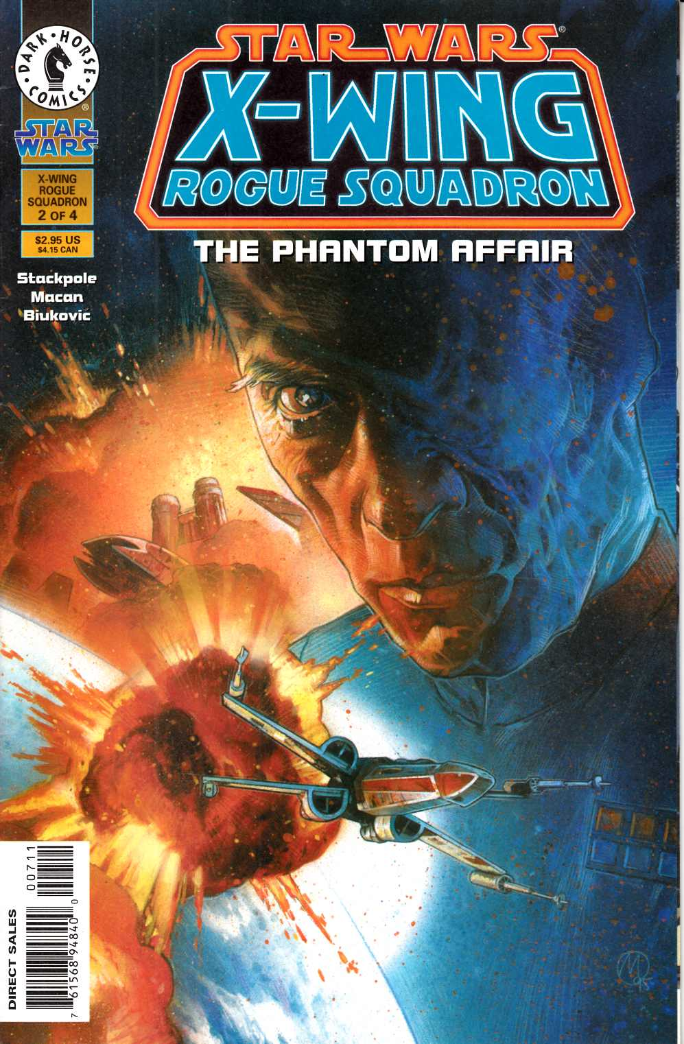 Star Wars X-Wing Rogue Squadron  #6 Very Fine (8.0) [Dark Horse Comic] THUMBNAIL