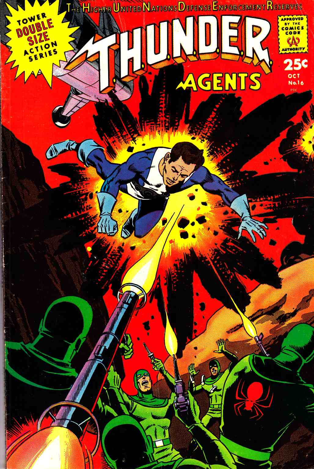 Thunder Agents #16 Fine (6.0) [Tower Comic] THUMBNAIL