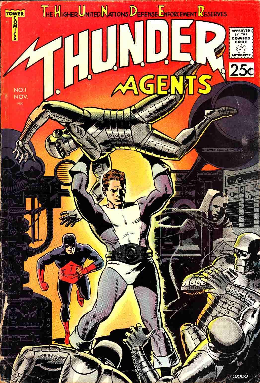 Thunder Agents #1 Very Good Minus (3.5) [Tower Comic] THUMBNAIL