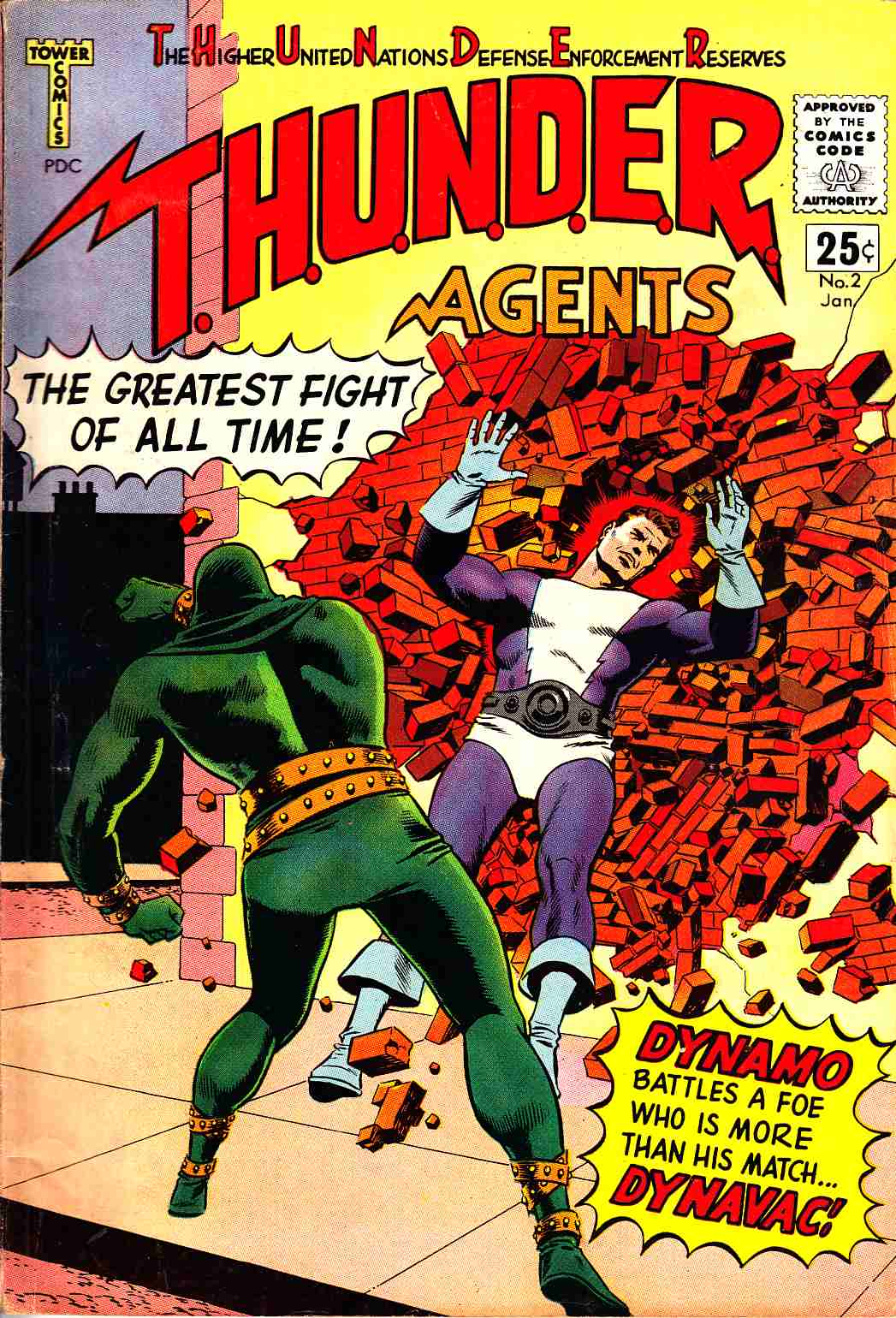 Thunder Agents #2 Fine (6.0) [Tower Comic] THUMBNAIL