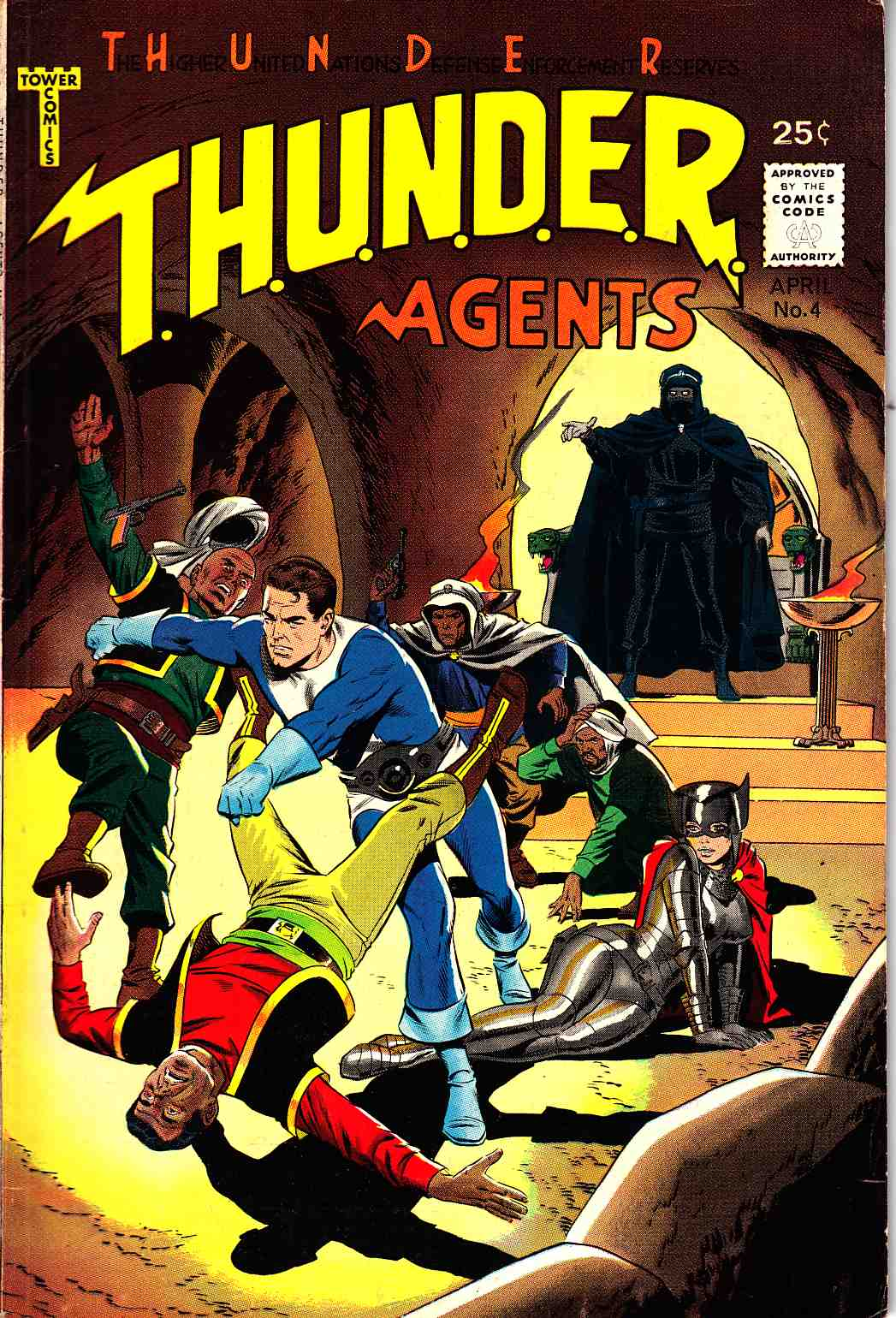 Thunder Agents #4 Very Fine Minus (7.5) [Tower Comic] THUMBNAIL
