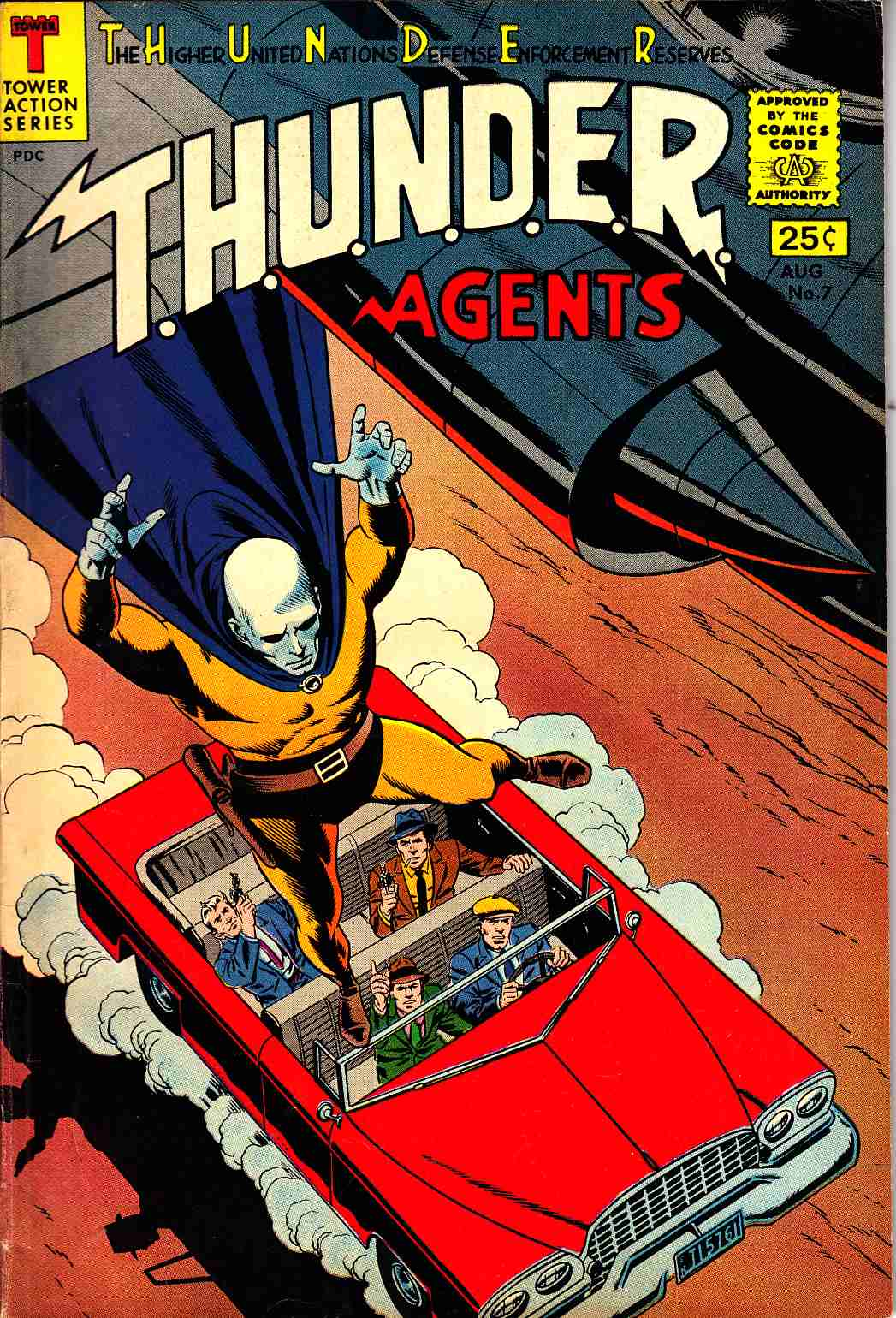 Thunder Agents #7 Fine (6.0) [Tower Comic] LARGE