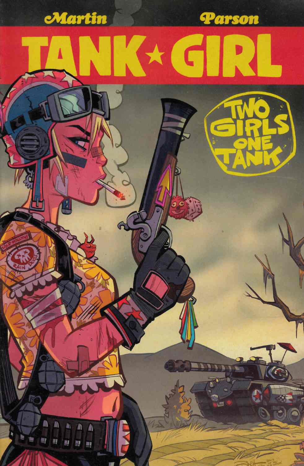 Tank Girl 2 Girls 1 Tank #4 Cover A [Titan Comic]