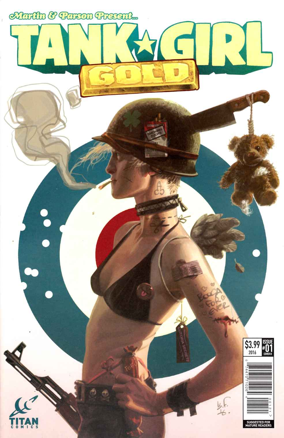Tank Girl Gold #1 Cover B [Titan Comic] THUMBNAIL