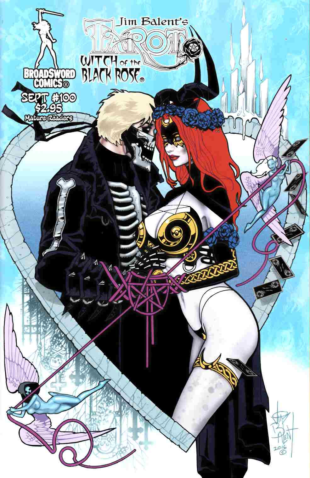 Tarot Witch of the Black Rose #100 Cover B [Broadsword Comic] LARGE