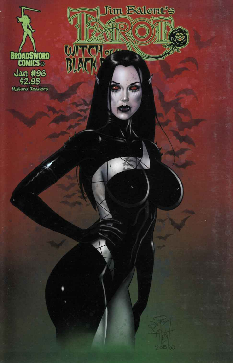 Tarot Witch of the Black Rose #96 Cover B [Broadsword Comic] LARGE