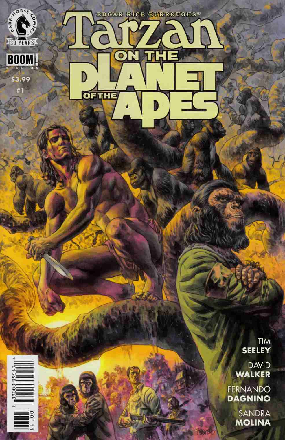 Tarzan on the Planet of the Apes #1 [Dark Horse Comic] THUMBNAIL