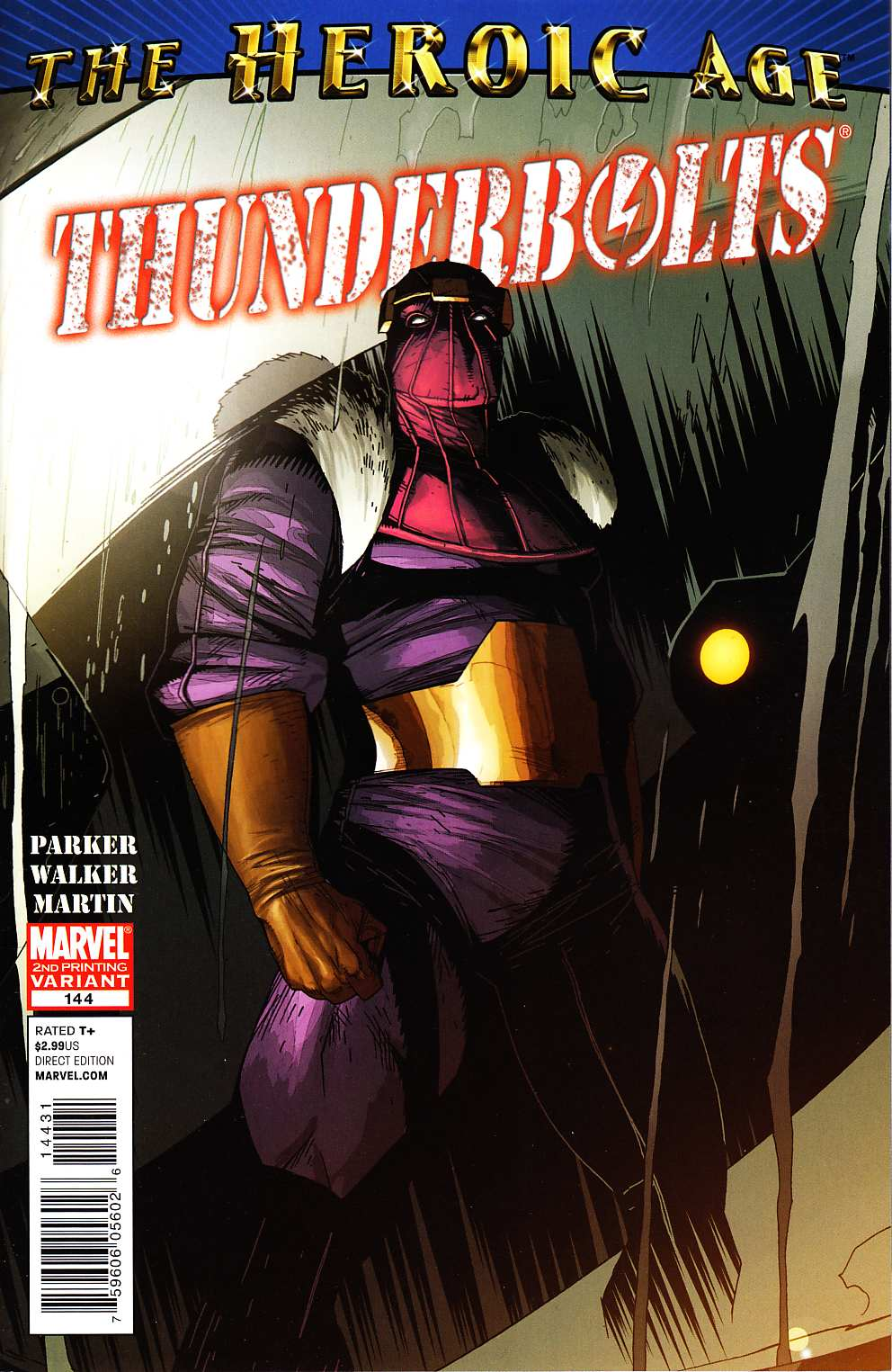 Thunderbolts #144 Second Printing Near Mint Minus (9.2) [Marvel Comic]_LARGE