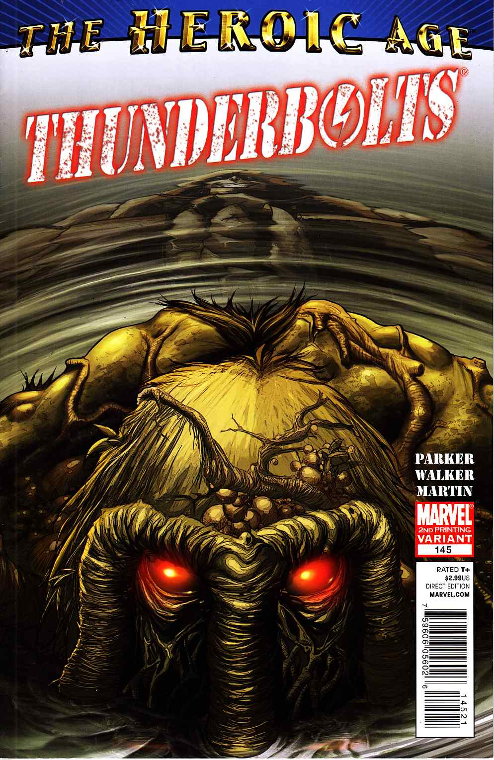 Thunderbolts #145 Second Printing Near Mint (9.4) [Marvel Comic]