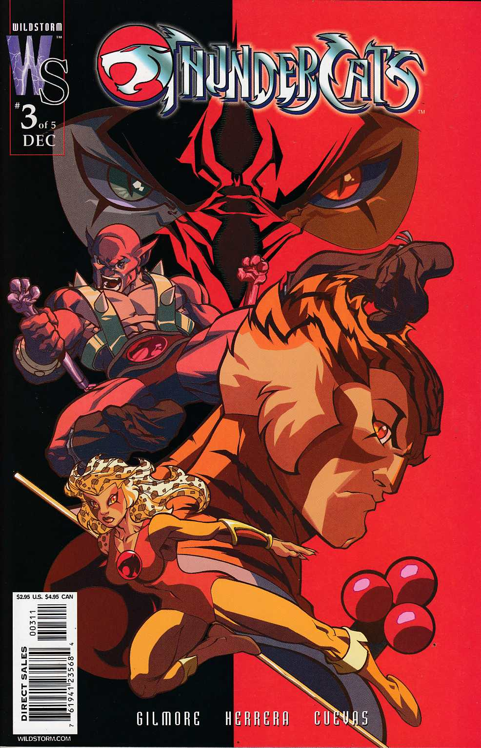 Thundercats #3 Cover A Near Mint (9.4) [DC Comic] THUMBNAIL