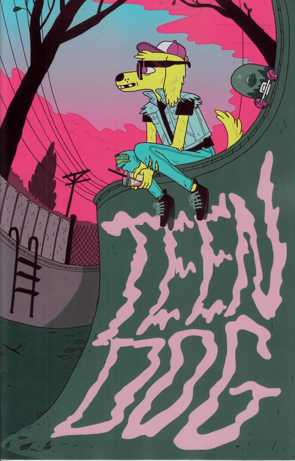 Teen Dog #1 Lee Variant Cover [Comic] THUMBNAIL