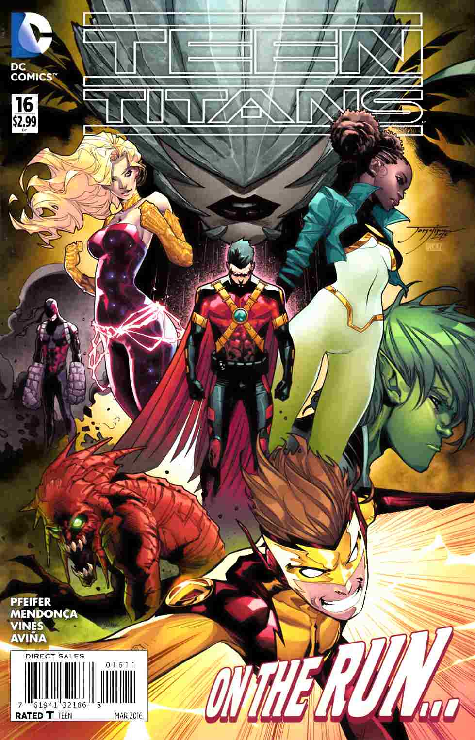 Teen Titans #16 [DC Comic]