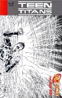 Teen Titans #5 Booth B&W Variant Cover [DC Comic] THUMBNAIL