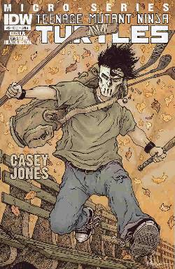 Teenage Mutant Ninja Turtles Micro Series #6 (Casey Jones) Cover A [Comic] LARGE
