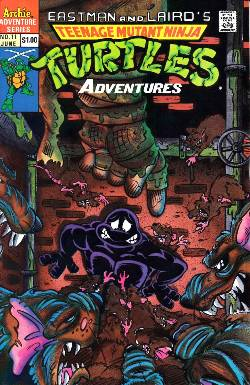 Teenage Mutant Ninja Turtles Adventures #11 [Comic] LARGE