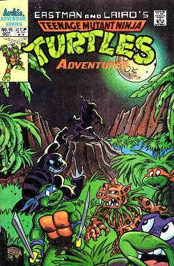 Teenage Mutant Ninja Turtles Adventures #15 [Comic] LARGE