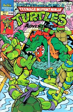 Teenage Mutant Ninja Turtles Adventures #6 [Comic] LARGE