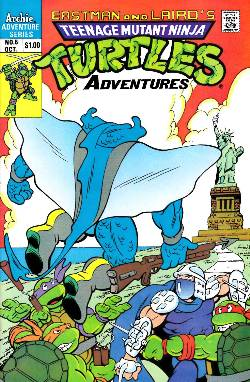 Teenage Mutant Ninja Turtles Adventures #5 [Comic] LARGE