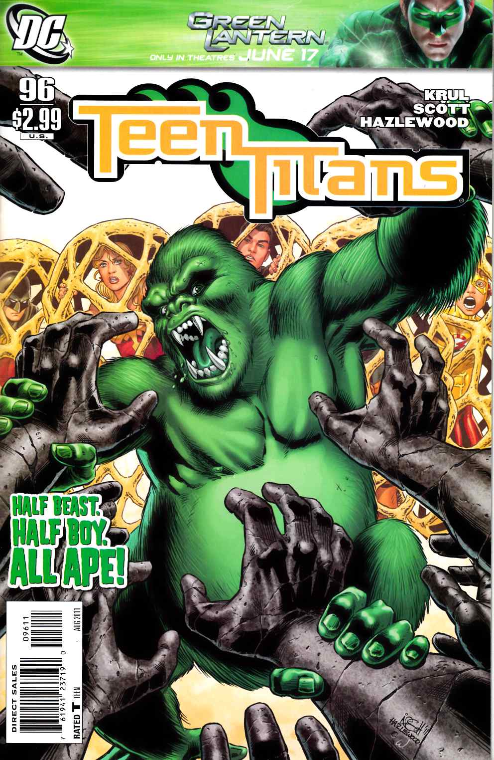Teen Titans #96 Near Mint (9.4) [DC Comic] THUMBNAIL