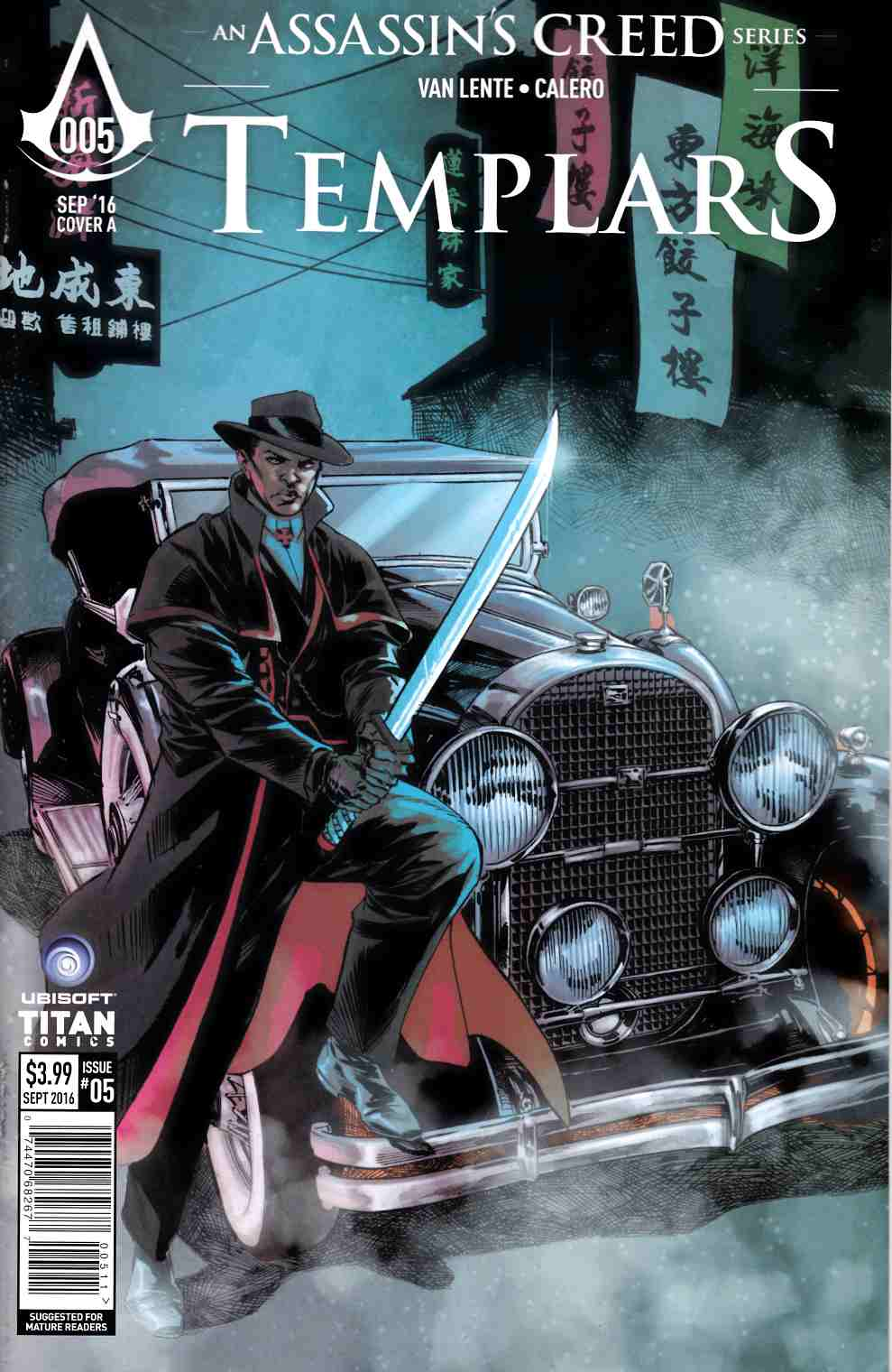 Assassins Creed Templars #5 Cover A [Titan Comic]
