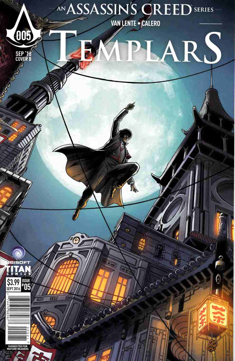 Assassins Creed Templars #5 Cover B [Titan Comic] THUMBNAIL