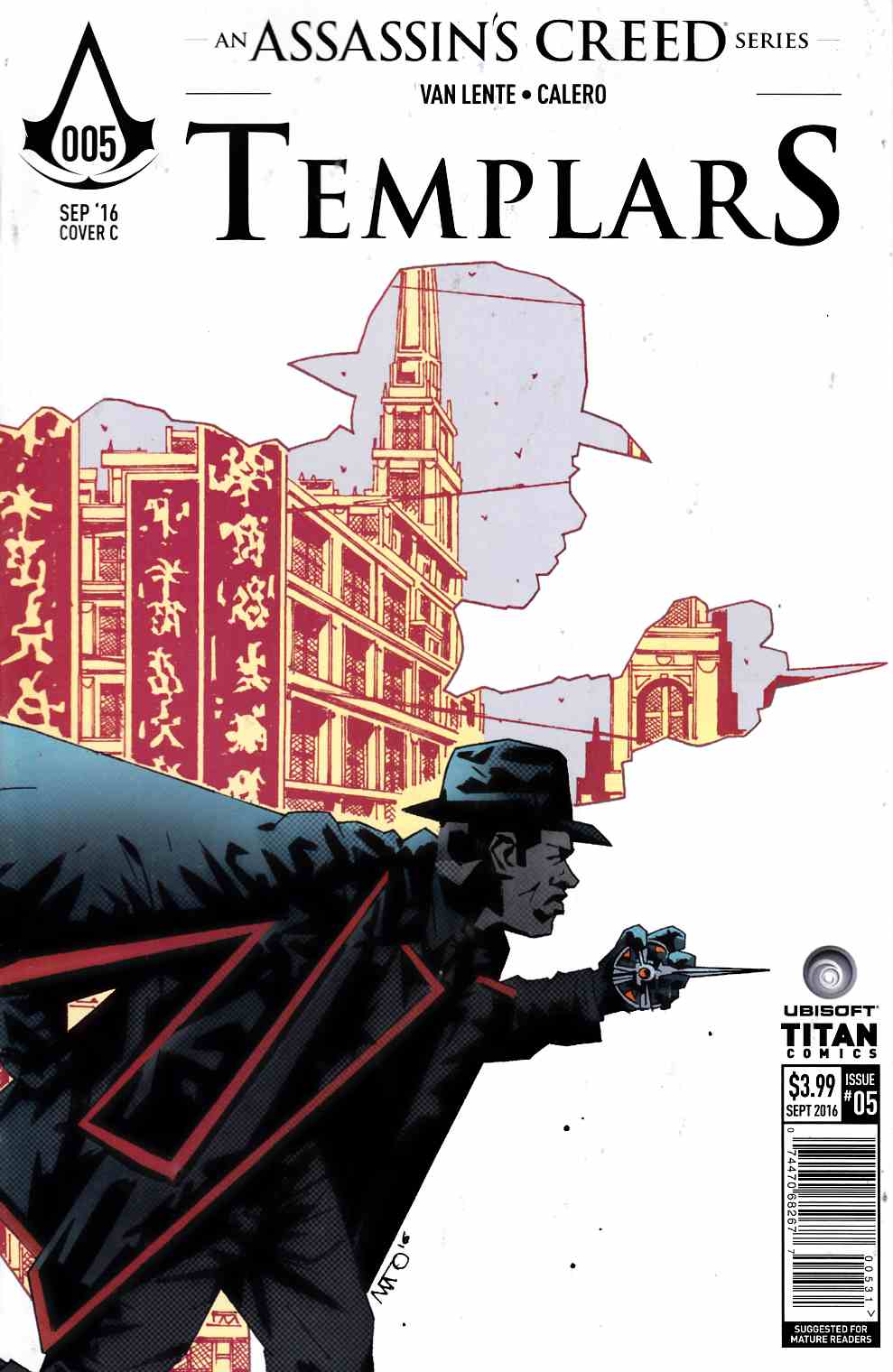Assassins Creed Templars #5 Cover C [Titan Comic] THUMBNAIL