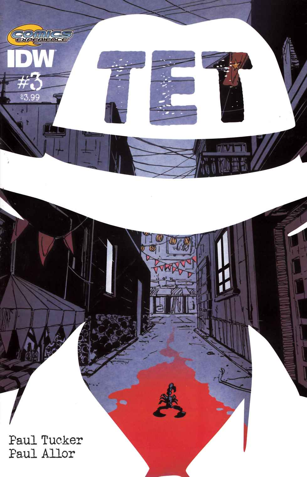 Tet #3 [IDW Comic] LARGE