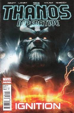 Thanos Imperative Ignition #1 [Comic] LARGE