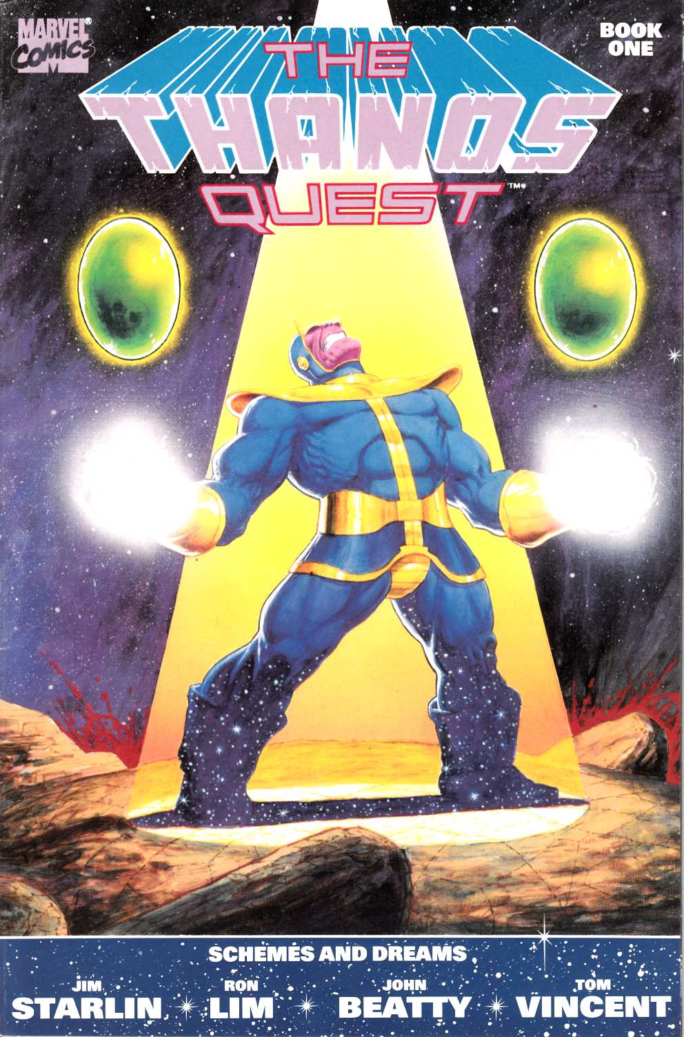 Thanos Quest #1 Very Fine/Near Mint (9.0) [Marvel Comic] LARGE