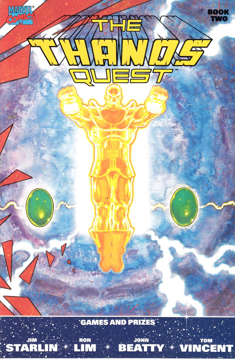 Thanos Quest #2 Near Mint (9.4) [Marvel Comic] LARGE