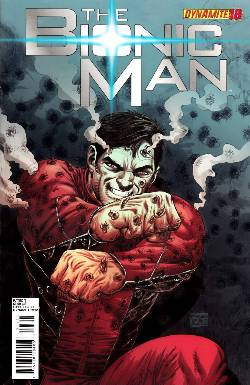 Bionic Man #18 Tadeo Cover [Comic] LARGE