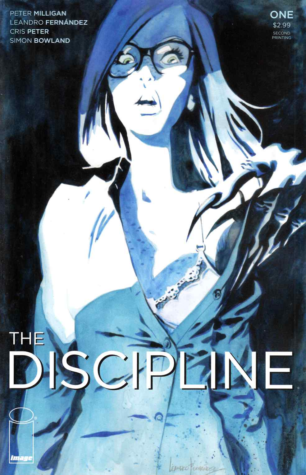 Discipline #1 Second Printing [Image Comic] LARGE