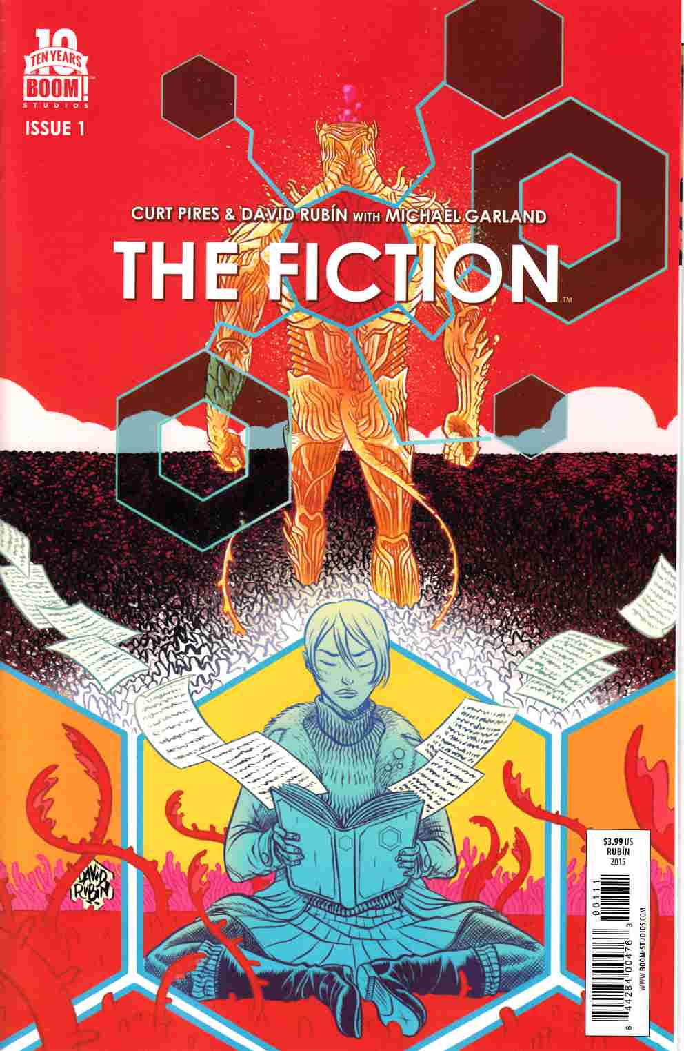 Fiction #1 [Boom Comic] LARGE