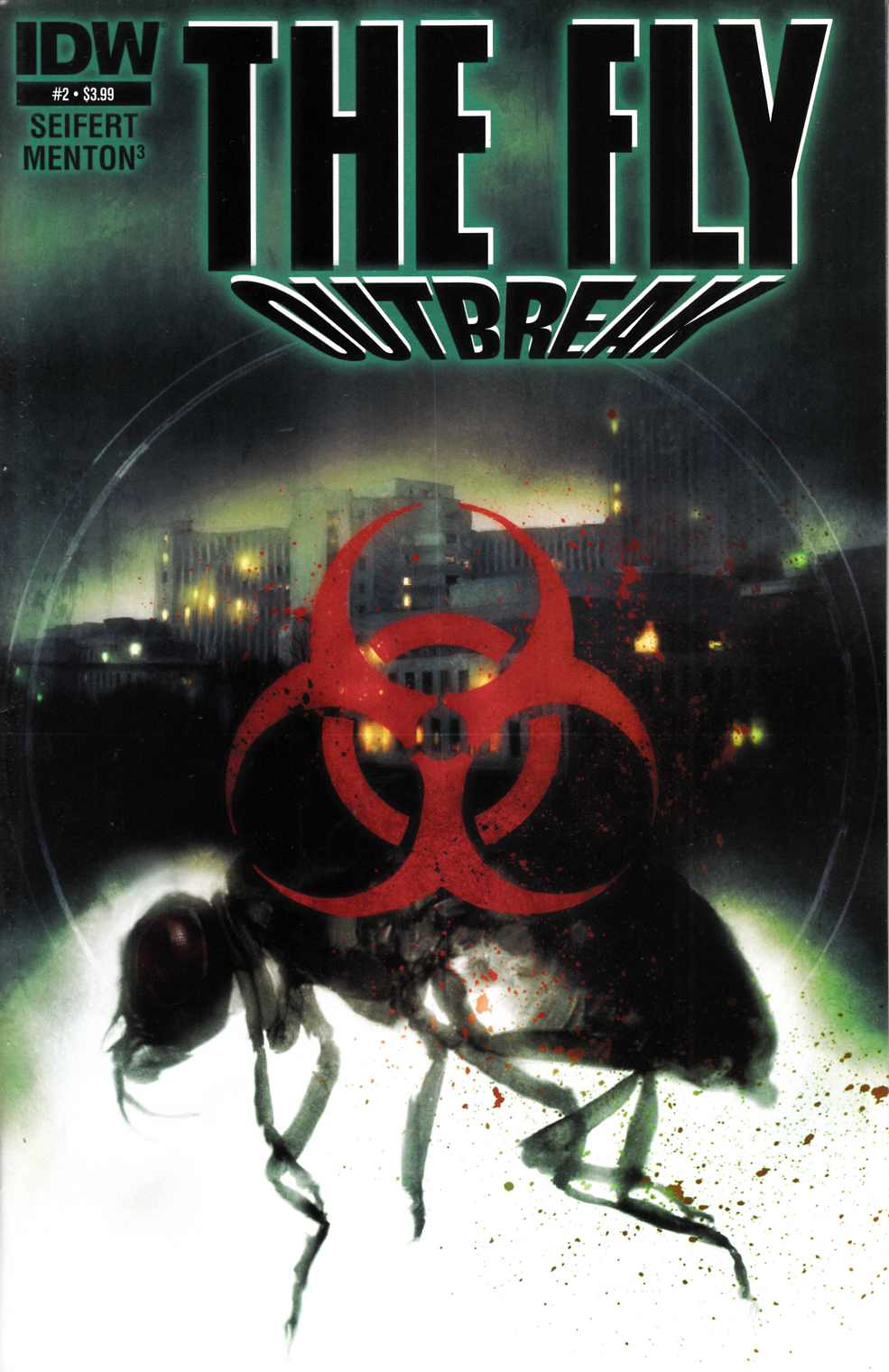 Fly Outbreak #2 [IDW Comic] THUMBNAIL