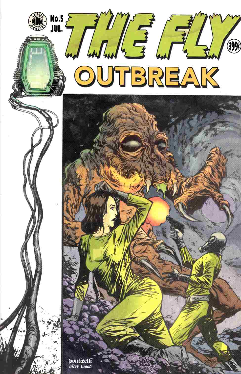 Fly Outbreak #5 EC Subscription Cover [IDW Comic] THUMBNAIL
