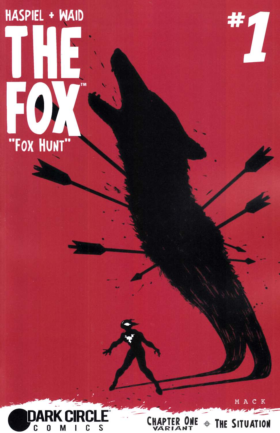 Fox #1 Mack Cover [Archie Comic]