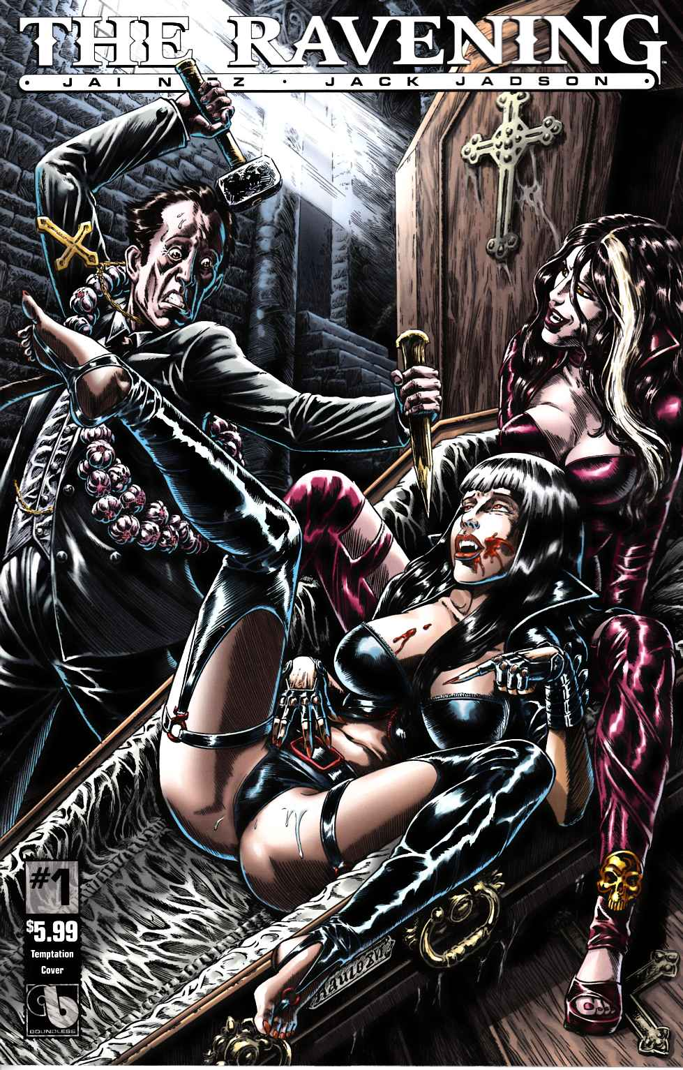 Ravening #1 Temptation Cover [Boundless Comic] LARGE