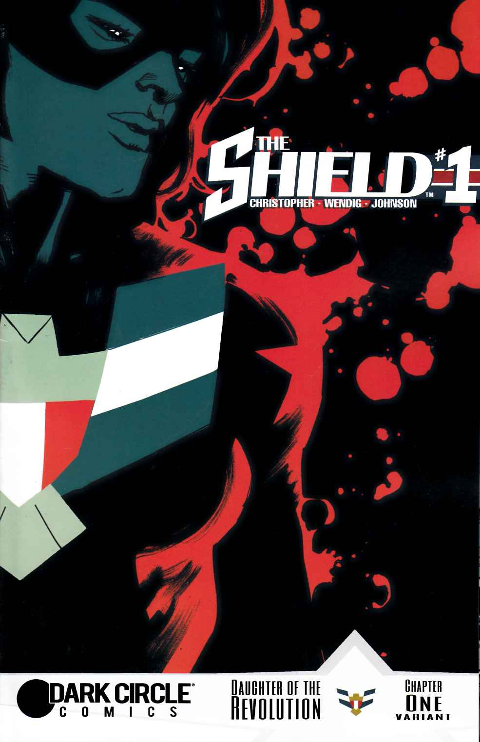 Shield (Dark Circle) #1 Rafael Albuquerque Cover [Archie Comic]