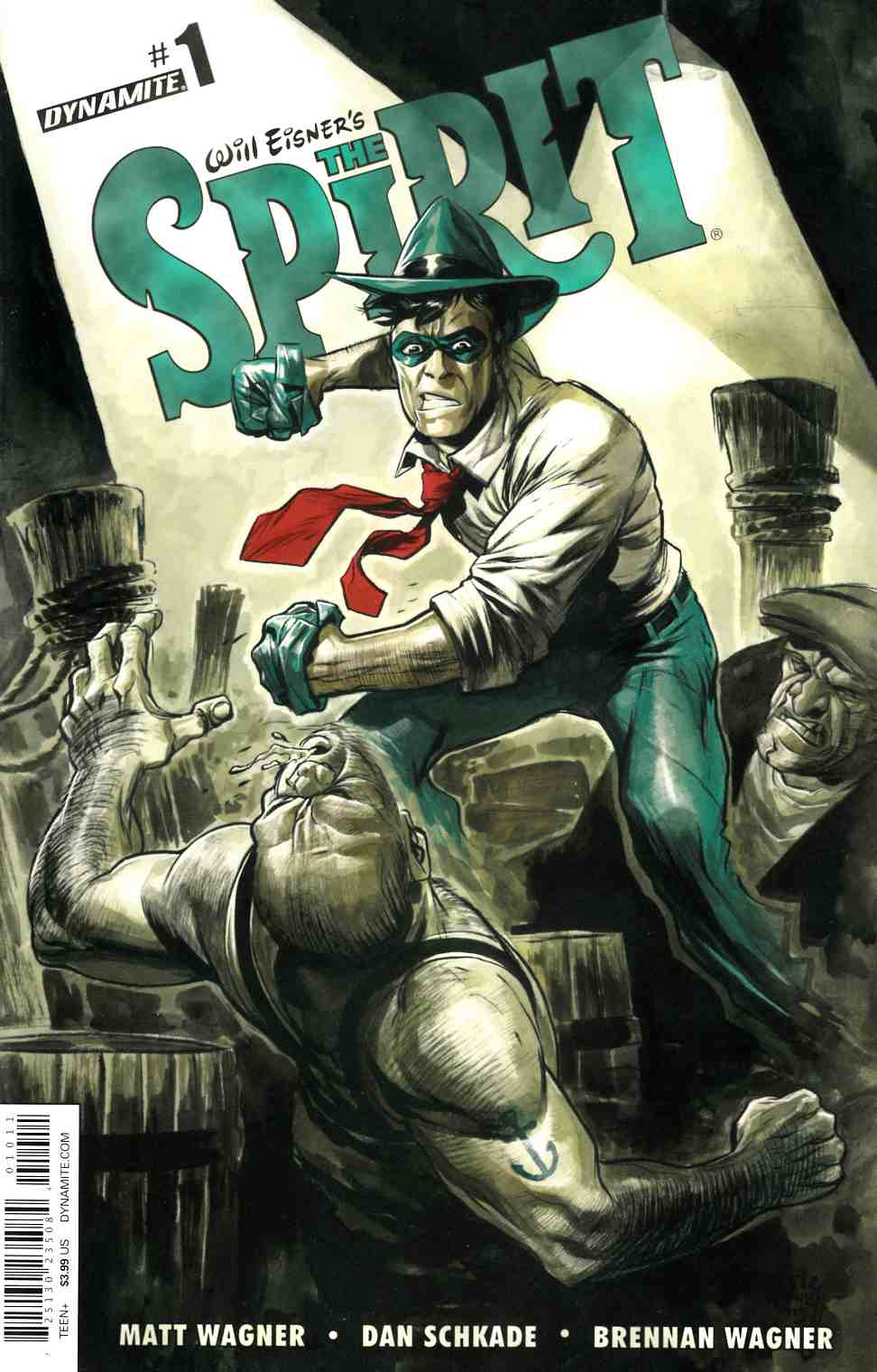 Will Eisner Spirit #1 Cover A- Powell [Dynamite Comic]_THUMBNAIL