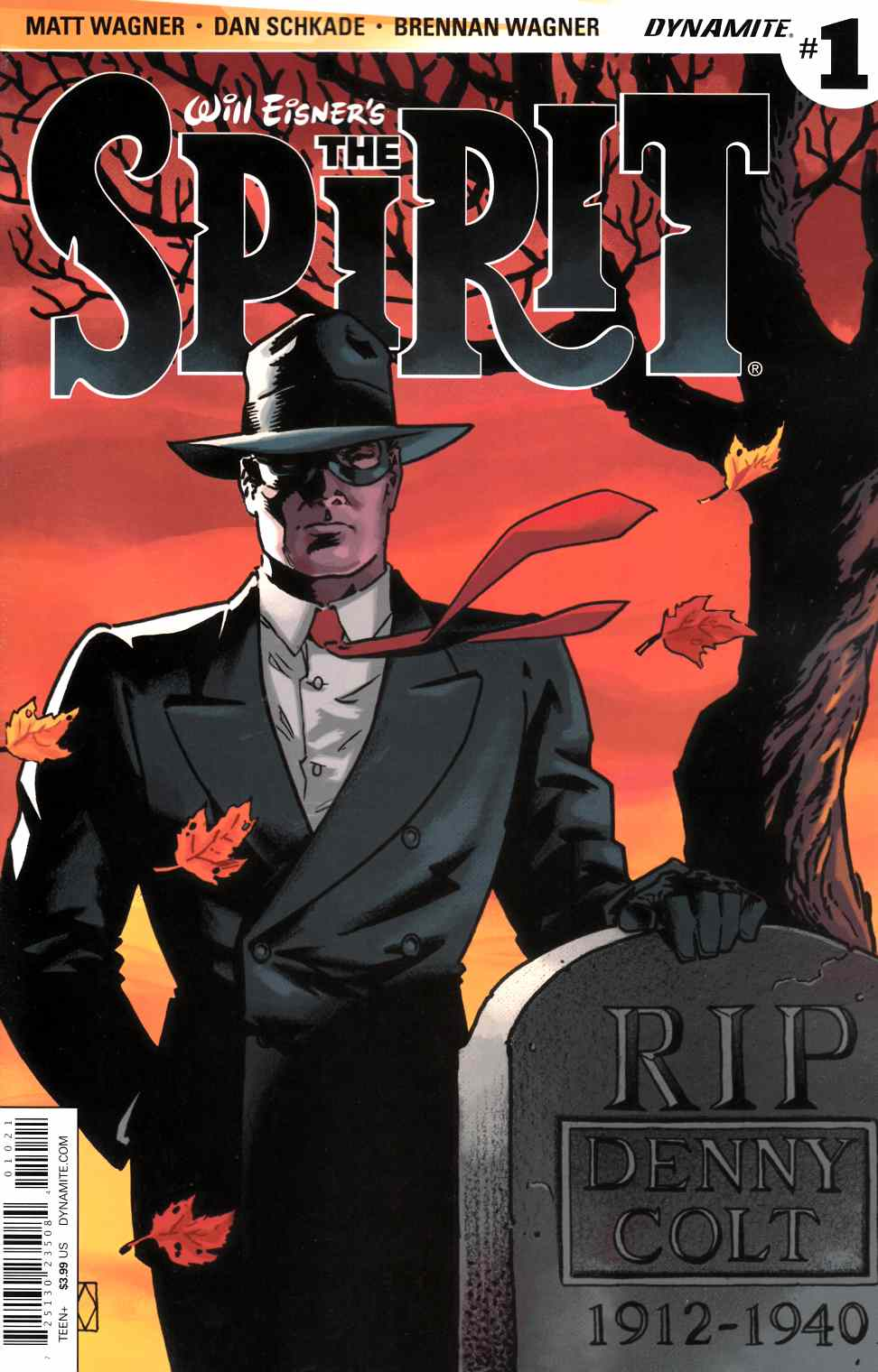 Will Eisner Spirit #1 Cover B- Wagner [Dynamite Comic]_THUMBNAIL