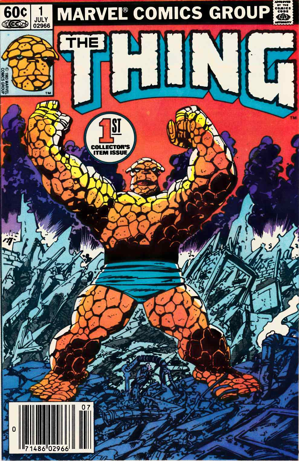 The Thing #1 Very Fine (8.0) [Marvel Comic]