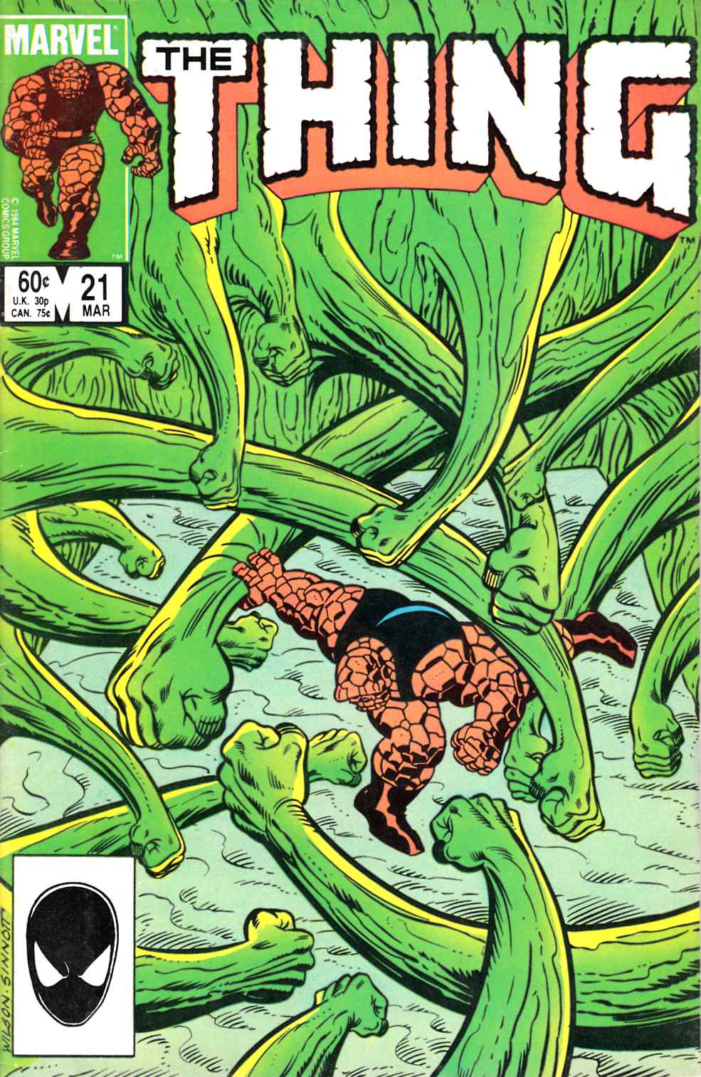 The Thing #21 Very Good (4.0) [Marvel Comic]